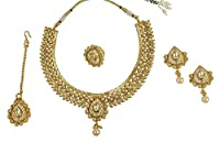 MUCHMORE Bollywood Amazing Style Polki Indian Necklace Fantastic Jewelry for woman's