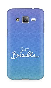 AMEZ just breathe Back Cover For Samsung Galaxy J2