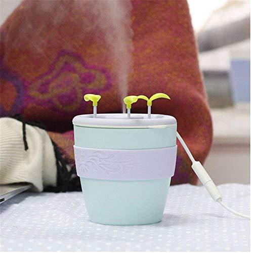 SunLively Humidificador de Plantas Mini Oficina Purificador de Aire para el hogar Máquina de Niebla de Iones Negativos ultrasónicos para Dormitorio 200 ml