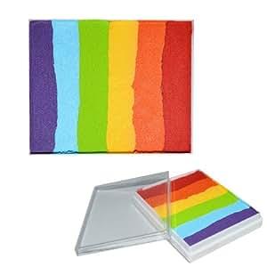 Tablette unique 6 couleurs maquillage artistique