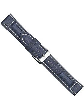 Uhrbanddealer 20mm Ersatzband Uhrenarmband Fliegerband,