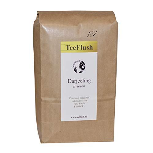 Darjeeling First Flush FTGFOP1, Ernte 2018, 1kg, Schwarzer Tee, Bio, Geschmack blumig-zart, Chamong Gruppe-Phoobsering Teegarten