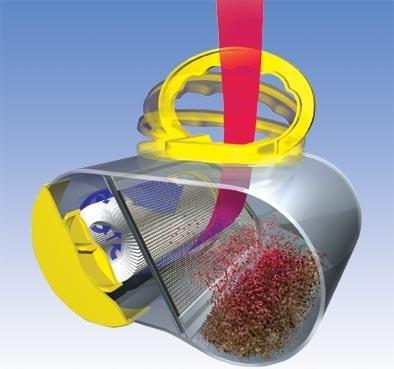 Preisvergleich Produktbild Hepa Filterbox für EIO Staubsauger Topo, Vivo, Varia