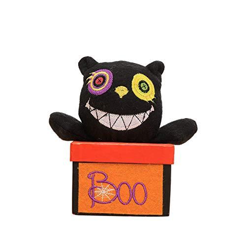 OKEYsoe Halloween Dekorationen Kreative Halloween Vampir Kürbis Pralinenschachtel Geschenkbox(D)