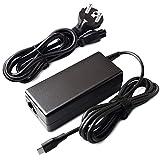 PFMY 65W USB Type-C Caricabatteria Notebook Adattatore Alimentatore Caricatori Alimentatori Caricabatterie Per Lenovo Yoga 910 920 80VF 80VG, Thinkpad E480, HP Spectre 13 X2, Dell XPS 13 9350 Laptop