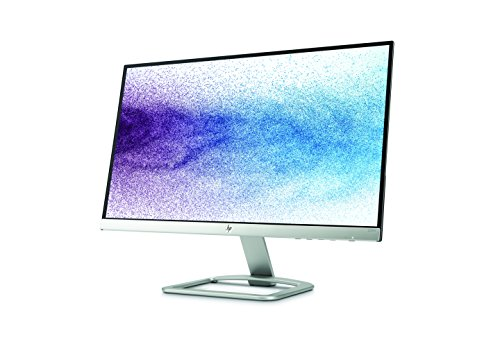 HP 22es 22 inch LED Monitor 1920 x 1080 Pixel total HD FHD IPS 7 ms HDMI VGA Black and Silver Monitors