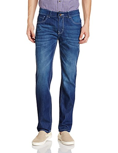 Diverse Men's Relaxed Fit Jeans (DVD02D1L01-2d_Indigo Blue_30W x 32L)