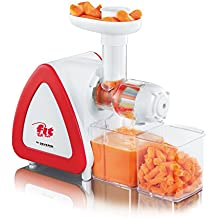 Severin ES 3568 - Extractor de jugos de estilo profesional, color blanco y rojo