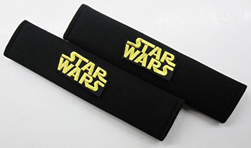 Price comparison product image Star Wars / Car Comfortable Seatbelt Harness Belt Shoulder Pads x 1 Pair (Black)