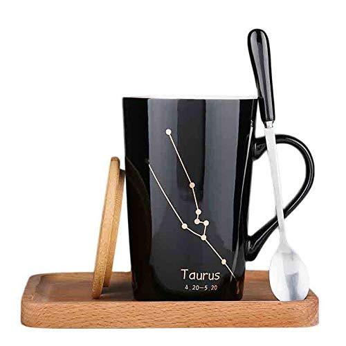 Qwqw tazze in ceramica, tazzine da caffè e tazze da tè sono adatti per la casa, l'ufficio, regalano ai tuoi amici i migliori regali per le vacanze, natale, anniversario, festa del papà