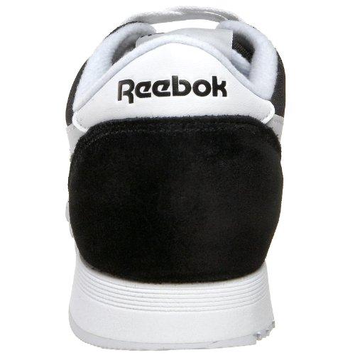 ReebokClassic Nylon - Scarpe da Ginnastica Basse Donna Negro (Black / White)