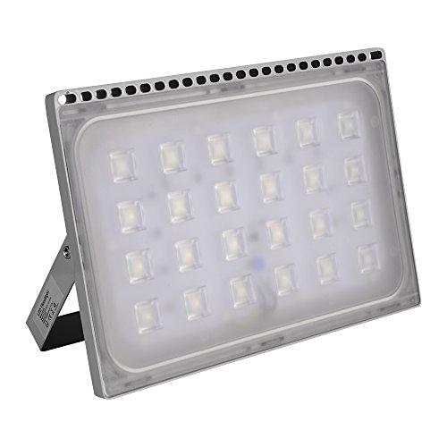 Yuanline Projecteur LED Extérieur 10W 20W 30W 50W 100W 150W 200W 300W Spot ultra-mince Blanc Froid Phare Intérieur et Extérieur Imperméable IP67 pour Jardin Cour Terrasse Square Usine (150W)