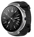 ELEGENCE-Z Smart Watch, Android 7.0 4G Kamera Uhr Telefon 16 GB ROM Eingebauter Übersetzer Bluetooth/GPS/Pulsmesser Sport Für Android iOS Schwarz