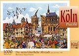 Die mittelalterliche Altstadt um das Jahr 1530: Die Köln-Puzzles