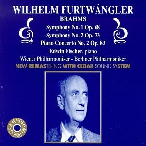Piano Concerto 2 / Symphonies 1 & 2 by Brahms Brahms Symphony 2 Fischer