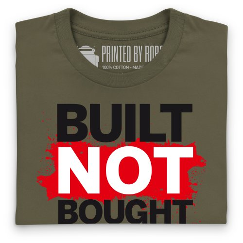 Not Bought T-Shirt, Herren Olivgrn