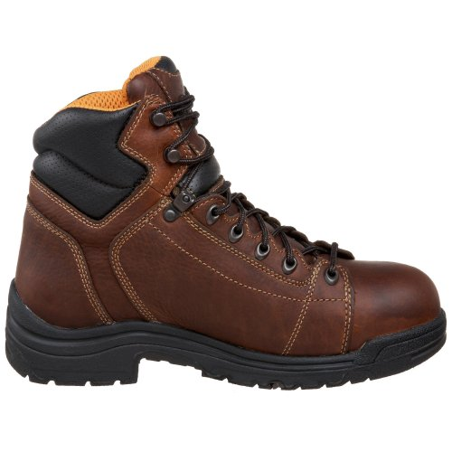Timberland Pro Mens 6  Titan   Lace-To-Toe Safety Toe Shoe  13 2E UK  Dark Brown