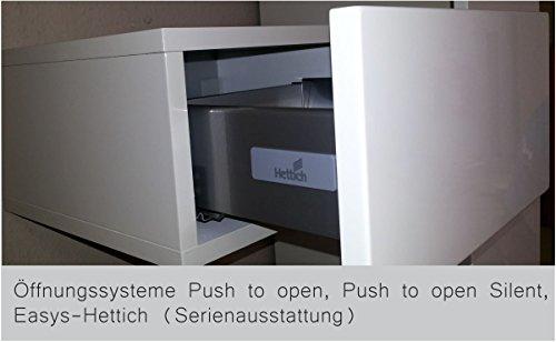 KITOON Sideboard (B 171 H 95 T 48 cm), Gleiter, Eiche geölt (Echtholzfurnier) - 5