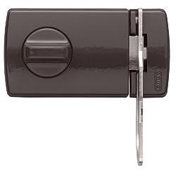 ABUS Tür-Zusatzschloss 2130, mit Drehknauf, braun, 56034