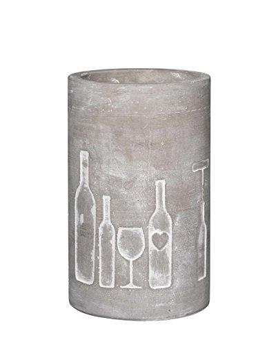 Vino Beton Weinkühler'Flasche + Glas'