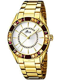 Lotus 15892/1 - Reloj de Pulsera Mujer, Acero Inoxidable, Color Dorado