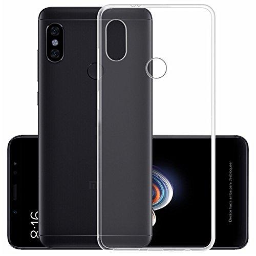 TorreCinco Funda Xiaomi Redmi Note 5, Silicona Fundas para Xiaomi Redmi Note 5 Carcasa Xiaomi Redmi Note5 Case Esquinas Reforzadas, Silicona de Alta Resistencia y Flexibilidad