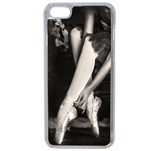 Lapinette Coque Souple avec Motif Danseuse Ballerine pour iPhone 5c