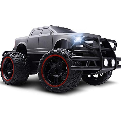 PETRLOY Hochgeschwindigkeits-RC-Car 1:16 Funkferngesteuertes Offroad-RC-Car Monster Truck Rc Hochgeschwindigkeits-RTR 36 km/h 4WD 2,4 GHz Ferngesteuerter LKW 9130, Geländewagen for Kinder und Erwach