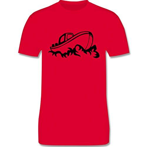 Schiffe - Boot - Herren Premium T-Shirt Rot