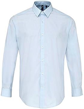 Premier - Camicia Manica Lunga in Popeline - Uomo