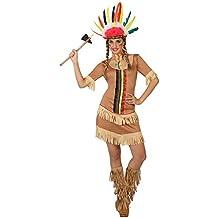 Atosa - Disfraz de india para adulto  (111-26596)