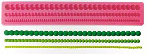 Silikonform-Perlenkette-Tortendekoration
