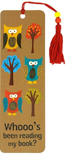 Beaded Bookmark Owls