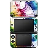 Nintendo 3 DS XL Case Skin Sticker aus Vinyl-Folie Aufkleber Farben Bunt Nebel