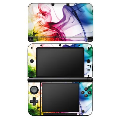 nintendo-3-ds-xl-case-skin-sticker-aus-vinyl-folie-aufkleber-farben-bunt-nebel
