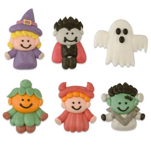 Günthart 12 Halloween Figuren aus Zucker