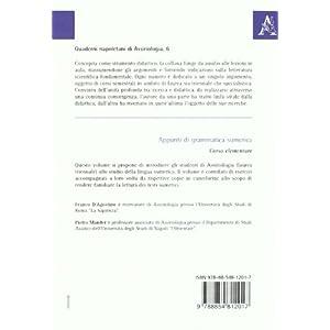 Appunti di grammatica sumerica. Corso elementare
