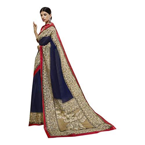 ETHNIC EMPORIUM Damen Bollywood Kareena Netto-Long-Kleid-Kleid-Partei-Cocktail Hochzeit Schwere Moslemische indischer Abaya Netz 6,5 mtr Blau (Netto-long-kleid)