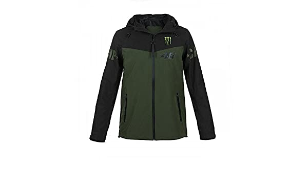 f4f784ff5be Monster Energy Valentino Rossi 46 - Veste coupe-vent - Pour homme   Amazon.fr  Sports et Loisirs