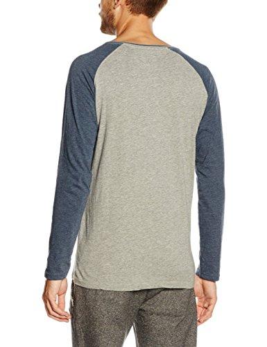 HOPE'N LIFE Herren T-Shirt Kanga Grau - Gray (Hellgrau)