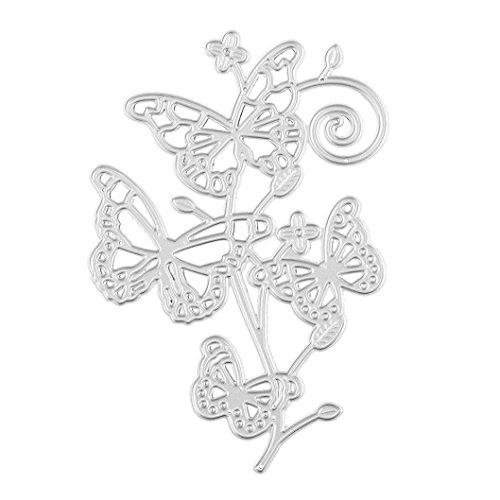 Covermason DIY Metal Embossing Plant Series Cutting Dies Stencil For Paper Card Scrapbooking Album Art Craft Gift (G) Test