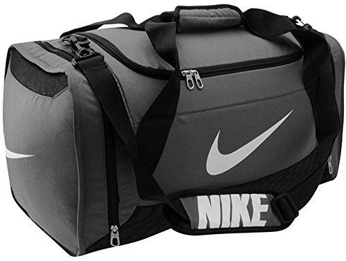 De La Marque Nike Brasilia 6Medium Grip Duffle Sac fourre-tout Sports Gym Voyage, gris, W58 x D30 x H32 cm