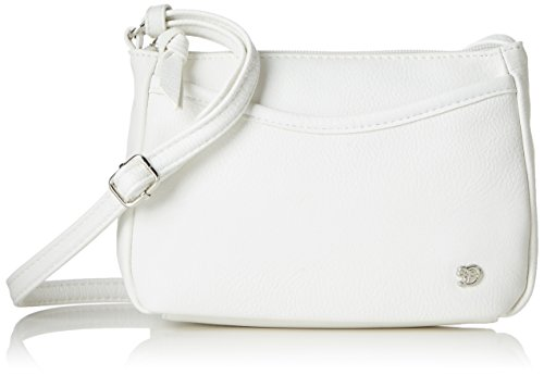 TOM TAILOR Denim Damen Cilia Henkeltasche, (Weiss), 4x14x21.5 cm