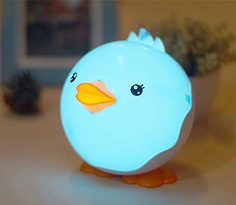 Forepin® Kawai Canard Veilleuse Lumière de Nuit USB Rechargeable Lampe Eclairage Pour Bébé Chambre Salon Enfants Djeco