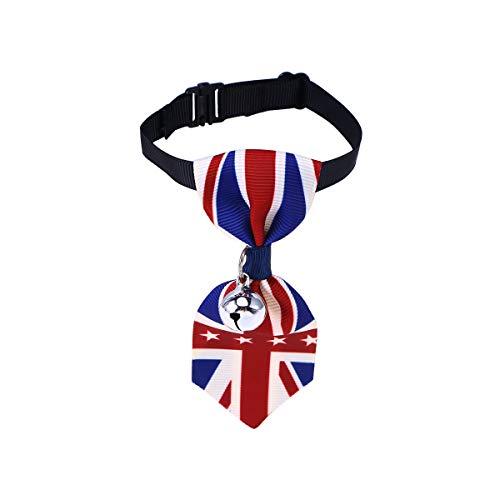 BESTOYARD Collar pequeño para Mascota, Collar Ajustable para Perro, Gato, para Navidad, Festival, Fiesta