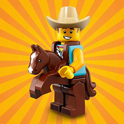 LEGO Chico con disfraz de vaquero