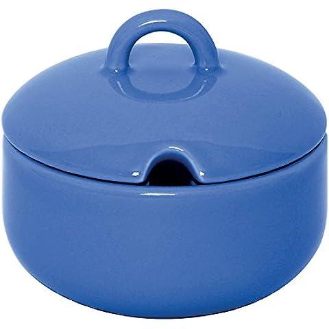 Excelsa azul para queso/azúcar de trabajo o servidor
