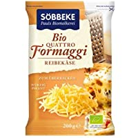 Söbbeke Bio Reibekäse Quattro formaggi (6 x 200 gr)
