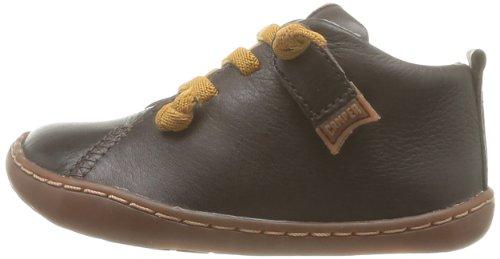 Diseñado Camper PARA INFANTIL CON CORDONES marrón Zapatos