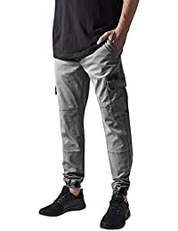 Urban Classics Herren Hose Washed Cargo Twill Jogging Pants
